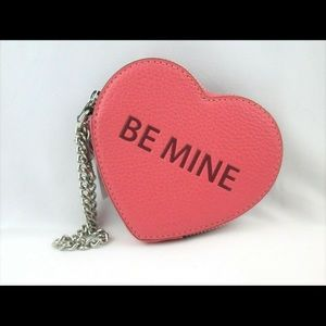 Coach Candy Heart coin Purse Wristlet Be Mine XOXO